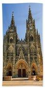 Basilique Notre - Dame De L'epine Bath Towel
