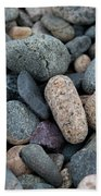 Beach Of Stones Bath Towel