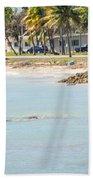 Beautiful Beach And Ocean Scenes In Florida Keys Bath Towel