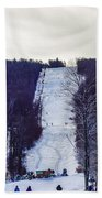 Beautiful Winter Landscape At Timberline West Virginia Bath Towel