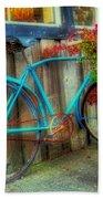 Bicycle Art 1 Bath Towel