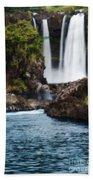 Big Island Waterfall Bath Towel