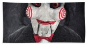 Billy The Puppet Bath Towel