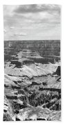 Black Grand Canyon  Bath Towel