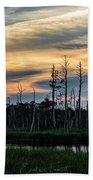 Blackwater Sunset Hand Towel