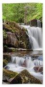 Blaen Y Glyn Waterfalls Bath Towel