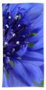 Blue Cornflower Bath Towel