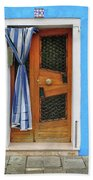 Blue In Burano Hand Towel