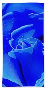 Blue Romance Bath Towel