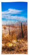 Blue Sky Over The Dunes Bath Towel