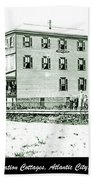 Boardinghouses And Cottages Atlantic City New Jersey C 1900 Hand Towel