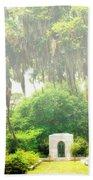 Bonaventure Cemetery Savannah Ga Bath Towel