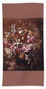 Bouquet Of Orchids Bath Towel
