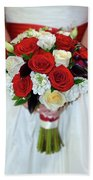 Bridal Bouquet Bath Towel