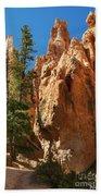 Spires On Navajo Trail Bath Towel