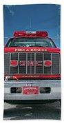 Burnington Iolta Fire Rescue - Tanker Engine 1550, North Carolina Bath Towel