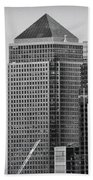 Canary Wharf London Bath Towel
