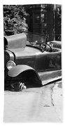 Car Accident, C1919 Bath Towel