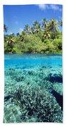 Caroline Islands, Pohnpei Bath Towel
