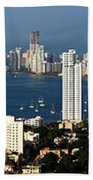 Cartegena Colombia Bath Towel