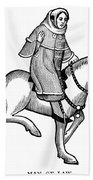Chaucer: The Man Of Law Bath Towel