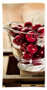 Cherries Bath Towel
