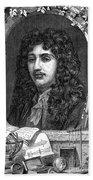 Christiaan Huygens, Dutch Polymath Bath Towel