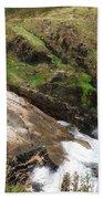 Church Cove Cornwall Bath Towel