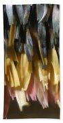 Close-up Of Luna Moth Wing Bath Towel