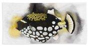 Clown Triggerfish No 01 Bath Towel
