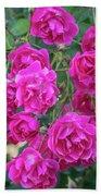Cluster Of Roses Bath Towel