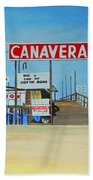 Cocoa Beach/cape Canaveral Pier Bath Towel