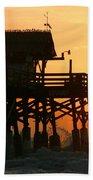 Cocoa Beach Pier/sunrise Bath Towel