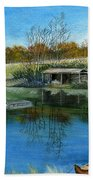 Cole Hill Pond Bath Towel