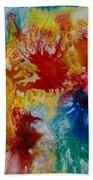Color Abstracts Bath Towel