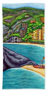 Colours Of Monterosso Hand Towel