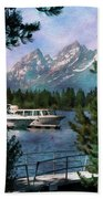 Colter Bay In The Tetons Bath Towel