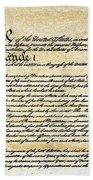 Constitution Bath Towel