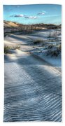 Coquina Beach, Cape Hatteras, North Carolina Bath Towel