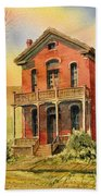 Courthouse Bannack Ghost Town Montana Hand Towel