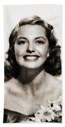 Cyd Charisse, Vintage Hollywood Legend Bath Towel
