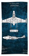 de Havilland Venom Bath Towel