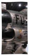 Dennis The Menace, North American, F-86d Sabre Bath Towel