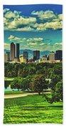 Denver City Park Hand Towel