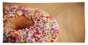 Donut And Sprinkles Hand Towel