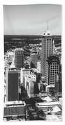 Downtown Indianapolis Bath Towel