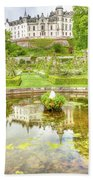 Dunrobin Castle Reflected Bath Towel