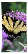 Eastern Tiger Swallowtail Butterfly 2015 Bath Towel