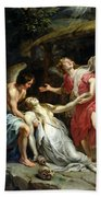 Ecstasy Of Mary Magdalene Bath Towel