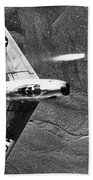 F-86 Jet Fighter Plane Hand Towel
